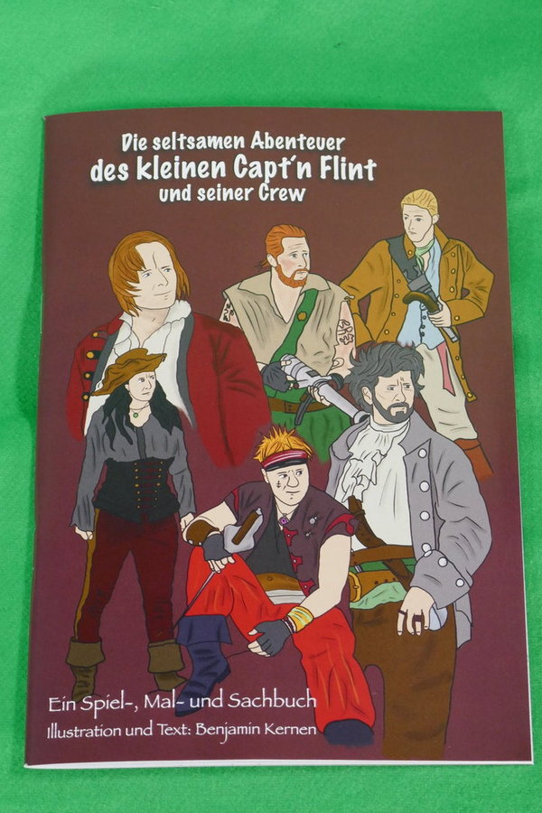Piraten-Kinder-Malbuch